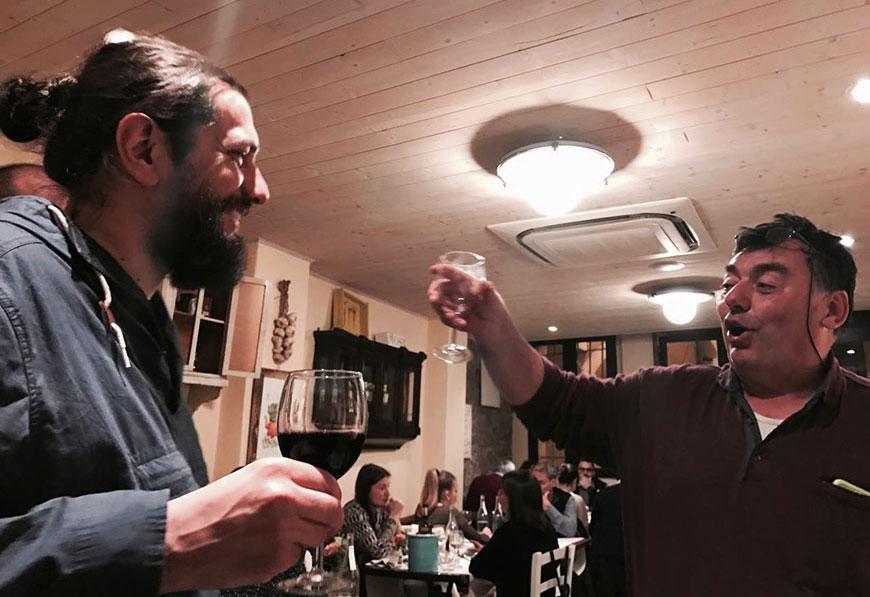 il Rovescio - a cena con l'Allevatore